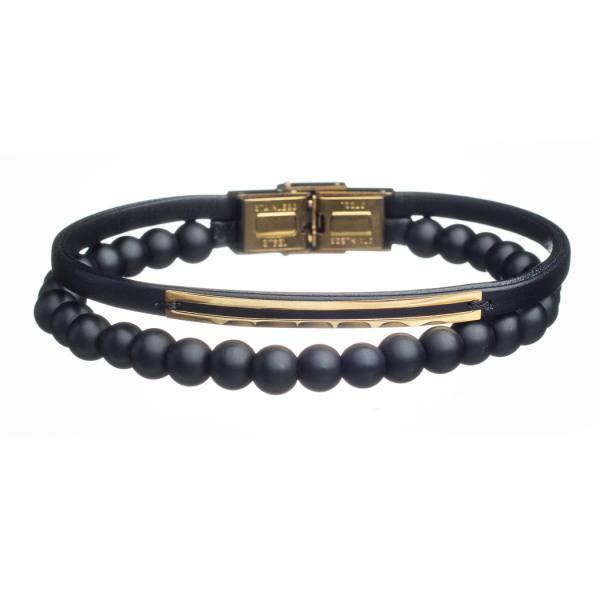 دستبند طلا و سنگ s10